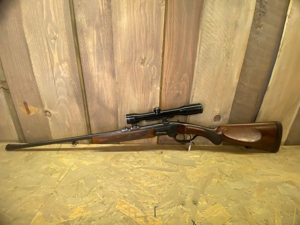 No. 200285 Single Shot Rifle Sauer & Sohn Tell