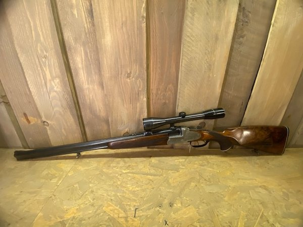 No. 200207 O/U Shotgun Rifle Combo Josef Just